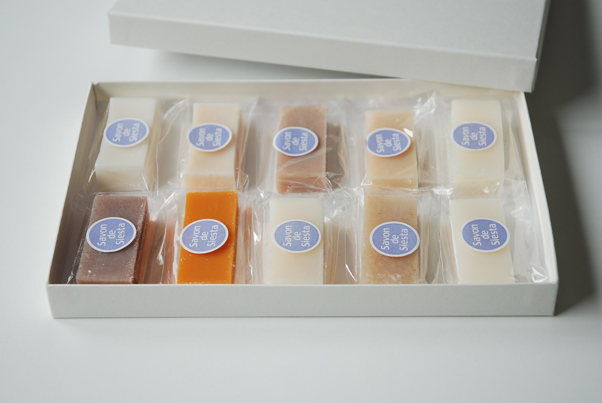 プチ石鹸10種セット