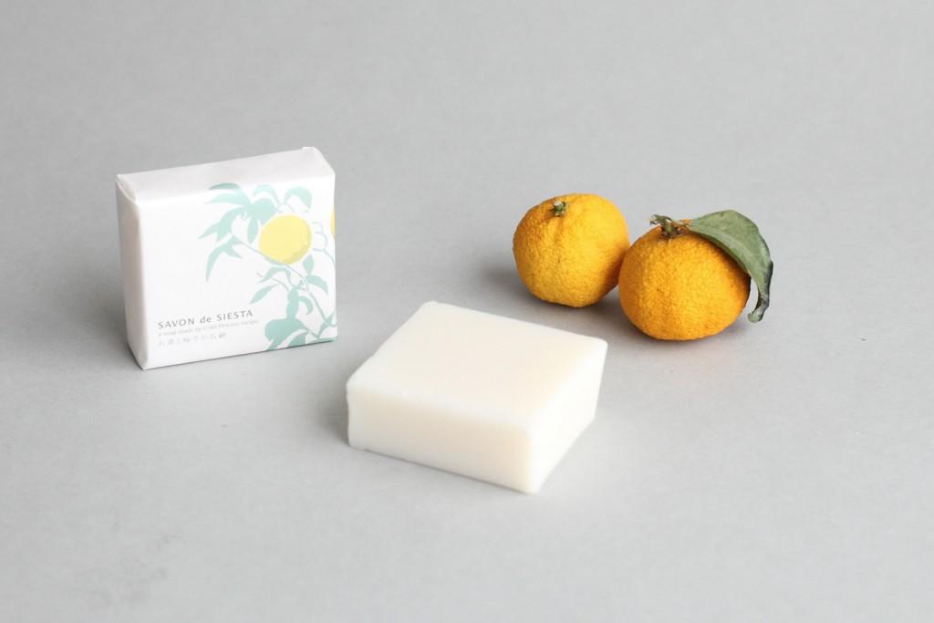 お酒と柚子の石鹸2